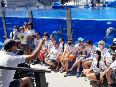 Photo - Marineland Mallorca colabora en la lucha para la investigación de la ataxia telangiectasia
